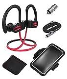 Best MPOW auriculares para teléfonos inteligentes - Auriculares Bluetooth, Mpow D3 Inalámbricos Impermeables IPX7, Cancelación Review