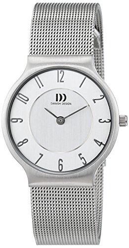 DANISH DESIGN Reloj Analógico para Mujer de Cuarzo con Correa en Acero Inoxidable IN69Q732