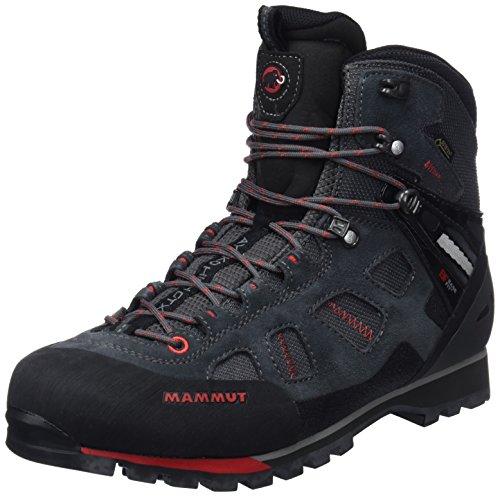 Mammut Herren Ayako High GTX Trekking-& Wanderstiefel, Grau (Graphite-Inferno 0609), 43 1/3 EU