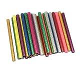 dreamtop 30 x Glitzer Klebstoff Sticks Craft Hot Kleber für Hobby, Holz-Heißklebepistole (7 x 100 mm)