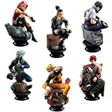 Naruto Action Figures: 6PCS, 2.7 - 3.5IN Tall