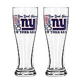 NFL New York Giants Spirit Pilsner, 16-ounce, 2-Pack