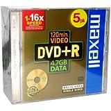 Maxell MAX-DPR47JC - DVD+RW vírgenes