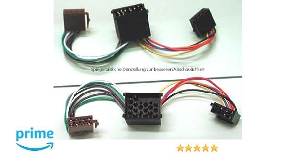Adapter Quadlock 40pin Buchse Quadlock 52pin Stecker f/ür Systeme ohne MQB C40119 Aerzetix