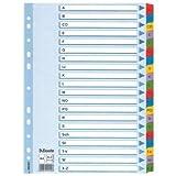Leitz Kartonregister A-Z, A4, Karton, 21 Blatt, weiss (10, 1-12)