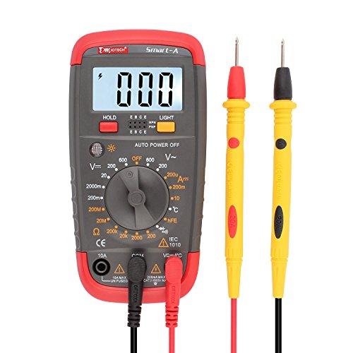 DMiotech Digital LCD Multimeter DMM Voltmeter Messgerät Temperature Tester de