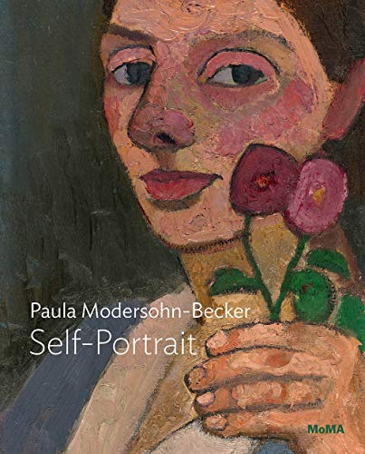 Modersohn-Becker : Self-portrait with two flowers