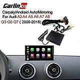 Carlinkit - Receptor inalámbrico para Espejo de Coche para Audi...