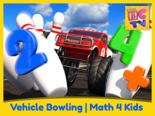 Vehicle Bowling Math - Learn Adding & Subtracting for Kids City-lights-serie