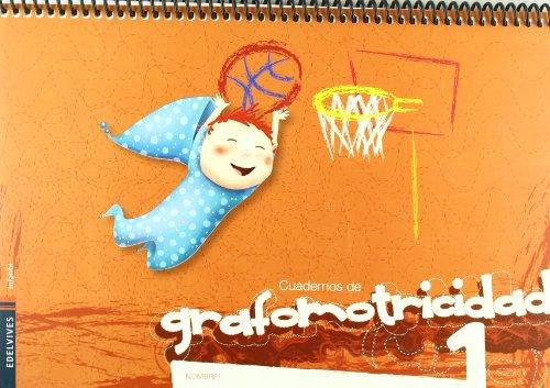 Cuaderno 1 de Grafomotricidad por Elena Villarroya Samaniego