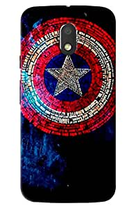 Moto e3 power superhero print hard high quality mobile Back Cover Case best colour and best fitting cover and this is very popular mobile cover (NO-1 Seller in Amazon)