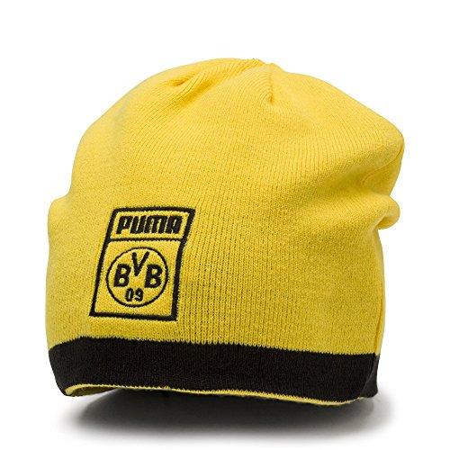 Puma BVB Reversible Mütze Black/Cyber Yellow, OSFA