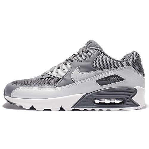 Nike Herren Air Max 90 Essential Laufschuhe cool grey-wolf grey-pure platinum-white