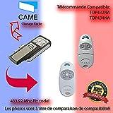 Remplacement de contrôle à distance Pour CAME TOP432NA / TOP434NA Télécommande