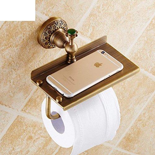DACHUI Papier Handtuch Halter mit Einem Modele Antik/WC Papier Regal/Vintage WC Papierhalter/Handy/Accessoires Badezimmer Das Badezimmer (Vintage-papier-handtuch-halter)