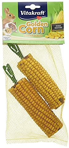 Vitakraft Small Animal Golden Corn 2 Cobs (Pack of 8, Total 16 Cobs)