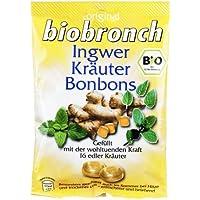 BIOBRONCH Ingwer Kräuter Bonbons 75 g Bonbons preisvergleich bei billige-tabletten.eu