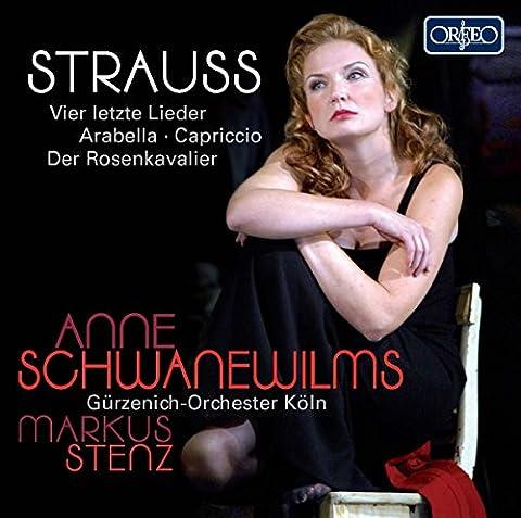 Strauss : Vier letzte Lieder / Arabella / Capriccio / Der Rosenkavalier