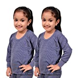 #4: Red Fort Thermal Top Blue Color for Boys and Girls - Pack of 2