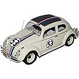 VW Volkswagen Käfer Herbie Nr 53 The Love Bug 1962 1/18 Mattel Hot Wheels Modell Auto mit oder ohne individiuellem Wunschkennzeichen