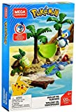 Mega Brands- Pokemon Duello Pirplup Contro Turtwig, Playset con Due Personaggi da Assemblare, GCN13