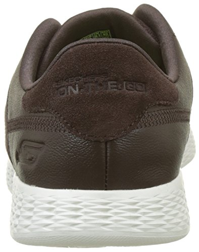 Skechers The-Go Glide-Sharp, Chaussures de Running Homme Marron (Chocolate)