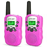 DMbaby Walkie Talkies for Kids, PMR446MHz 8 Channels , Built in Flash Light - Best Gifts