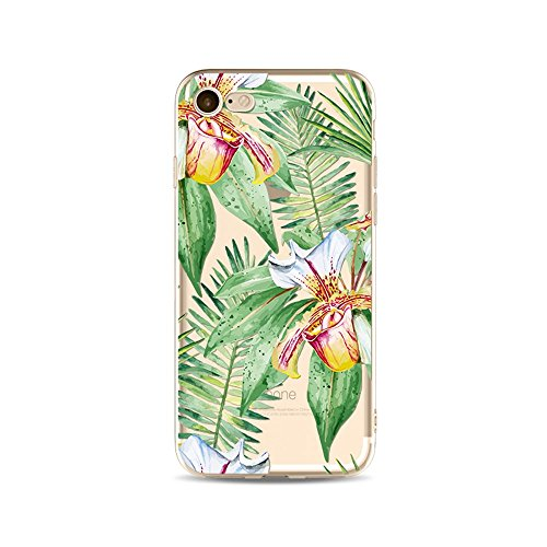 "CoqueiPhone 6S Plus Etui Housse,BoomTeck Coque Pour 5.5"" Apple iPhone 6S Pus/iPhone 6 Plus Silicone Souple Transparente Motif Clear Ultra Mince Anti Choc Anti-rayures Gel TPU Etui Protection Bumper C 12"