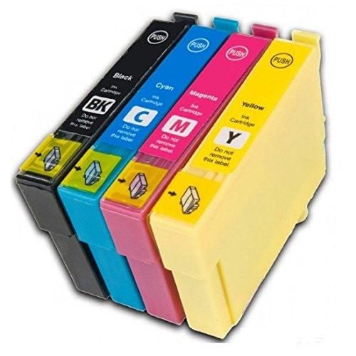 Preisvergleich Produktbild Prestige Cartridge 4 x Epson 16XL Tintenpatronen, schwarz/cyan/magenta/gelb