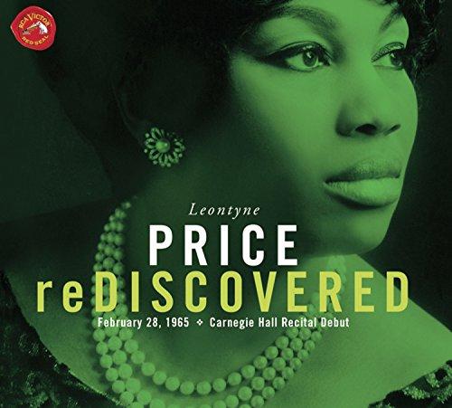 Leontyne Price re-discovered (Débuts à carnegie Hall, 1965)