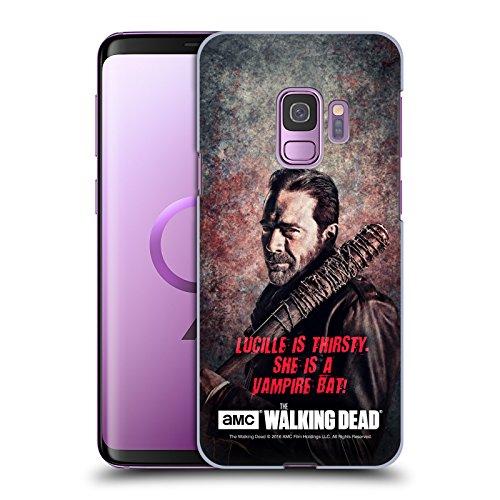 alking Dead Lucille Vampir Fledermaus Negan Ruckseite Hülle für Samsung Galaxy S9 (Negan-fledermaus)