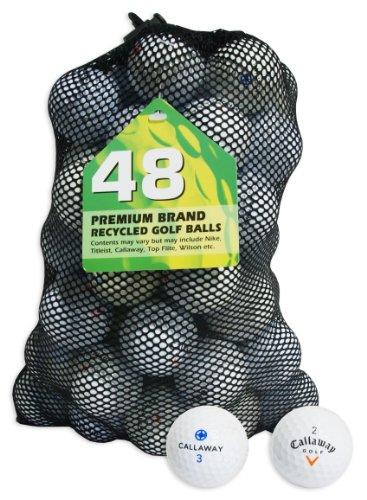 Second Chance Callaway 48 Balles de golf de récupération...