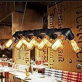 Lightess Suspension Luminaire Industrielle Vintage Rétro Plafonnier Eclairage...