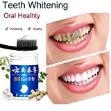 Teeth Whitening Powder, Voberry 50g magisches natürliches Zahnweiß-Pulver-Perlen-Zahn-Pulver-Zahn-Zahnpflege