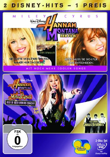 Der Film/Hannah Montana & Miley Cyrus - Best Of Both Worlds Concert (2 DVDs)