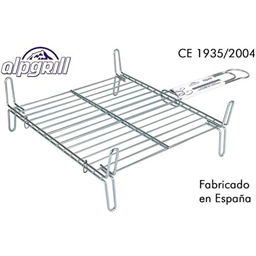 Alpgrill-Parrilla-barbacoa-35x35cm-doble