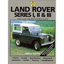 Land Rover: The Guide to Purchase and Do-it-yourself Restoration (Haynes, No. F681) by Lindsay Porter (17-Feb-1992) Hardcover