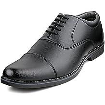 Escaro Mens Captoe Oxford Lace Up Officewear Shoes