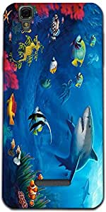 Snoogg Underwater Life 2727 Designer Protective Back Case Cover For Micromax ...