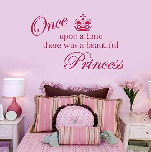 Pbldb 59X27CmVerkauf Krone Prinzessin Niedlichen Vinyl Wand Zitat Aufkleber, Prinzessin Aufkleber Aufkleber Dekoration Für Mädchen Zimmer02 (Prinzessin Für Verkauf Krone)
