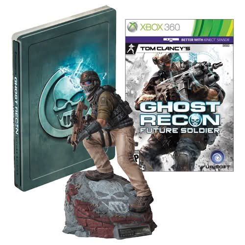 Ghost Recon: Future Soldier Limited Edition XBOX Video Game + Statue + Steelbook [Xbox 360] by Ubisoft