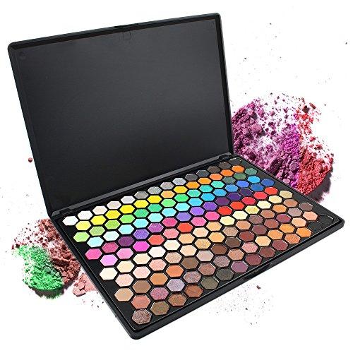 SMILEQ® 149 Farben Lidschatten Makeup Cosmetic Shimmer Matte Lidschatten Palette (1 x, 149 Farben)