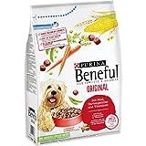 Purina Beneful Hundetrockenfutter Original (mit Rind und Gemüse) 4er Pack (4 x 3kg) Beutel