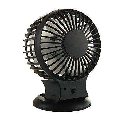 Foto de KWXHG El ventilador de refrigeración eléctrico de aire acondicionado de aire del ventilador hembra-cama dormitorio bass manual e-dormitorio soplando precioso mini, negro misterioso