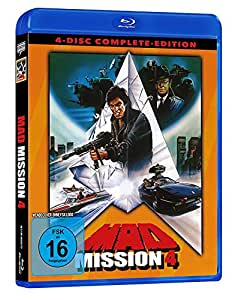 Mad Mission 4 - Uncut - 4 Disc Complete-Edition (2 BDs + 2 DVDs) [Blu-ray]