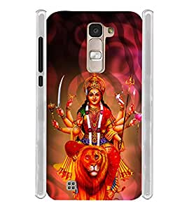 Lord Durga Devi Soft Silicon Rubberized Back Case Cover for LG K10 Dual :: LG K10