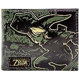 Legend of Zelda Goldenes Silhouette Klassisch Link Grün Portemonnaie Geldbörse