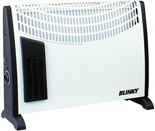 1000//2000 W Display LCD Telecomando e Rotelle Incl Radiatore Portatile Termoconvettore IP24 Riscaldatore Elettrico Klarstein Hot Spot CV20 Bianco Termostato