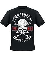Frei.Wild - Der Teufel trägt Geweih T-Shirt, schwarz
