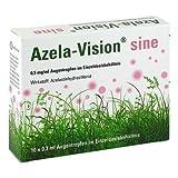 Azela-vision sine 0,5 mg/ml Augentropfen i.einzeld 10X0.3 ml by OMNIVISION GMBH